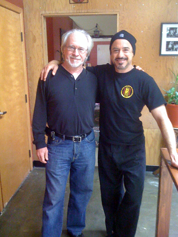 Bob Goodwin and Robert Downey Jr.