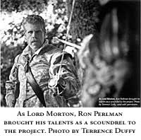 "Ron Perlman - ""The King's Guard"""